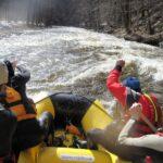 Raft na Jizeře